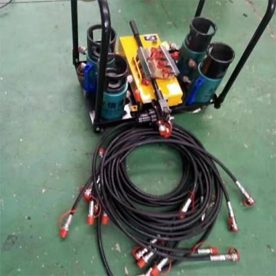 换热器用液压夹紧器 1拖4/6液压紧板器 板式换热器液压扳手