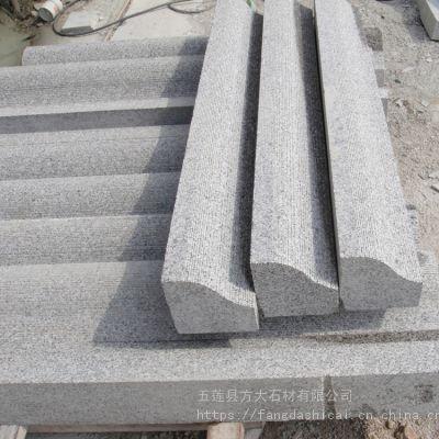 马路牙石生产_花岗岩马路牙石每米价格_芝麻灰大理石路牙