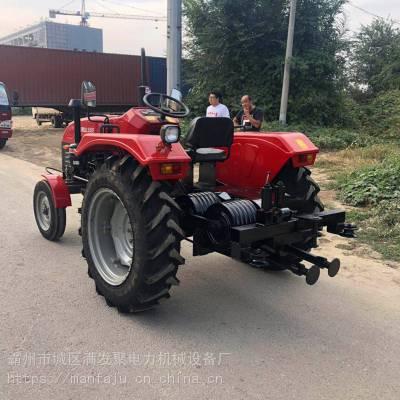 上海500拖拉机绞磨 四轮绞磨机 四轮拖拉机绞磨 满发聚