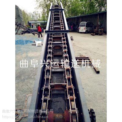 单双链刮板输送机型号 专业的链板输送机厂家
