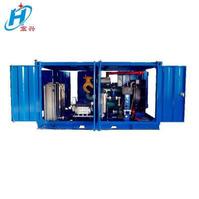 宏兴供应冷却塔柴油高压清洗机 结晶器维护保养工业冷水高压清洗机