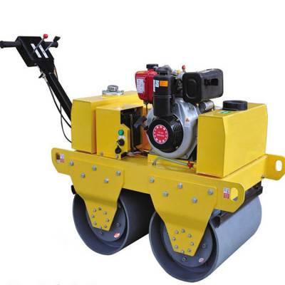 供应手扶汽油双轮压路机混凝土路面专用压实机沥青柴油压道机厂家