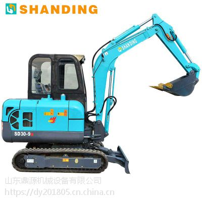 3吨拆房建屋小型挖掘机价格 微型挖掘机价格