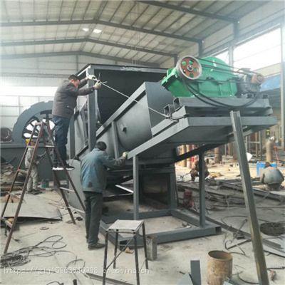 华工山砂洗砂机 每小时50吨螺旋筛洗一体机