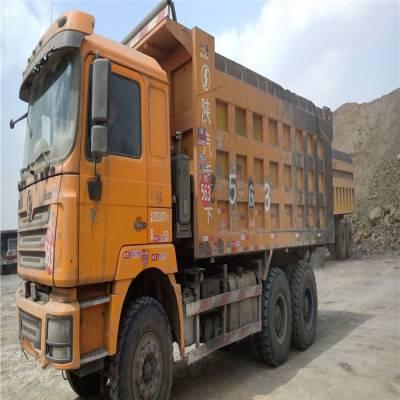 出售德龙 自卸工程车 380马力 工程翻斗自卸车