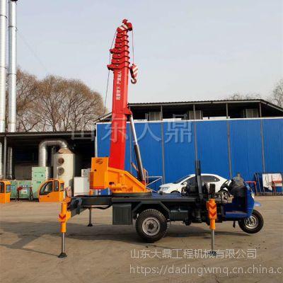 农用三轮小吊车 三轮小吊车供应厂家 改装定制5吨小吊机