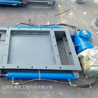 卡博恩直销电动平板闸门 方形电动螺旋闸阀 不锈钢方形排灰平板闸门