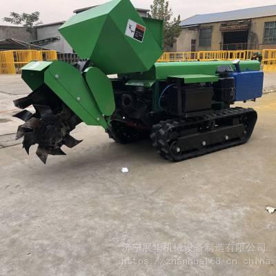 展华履带式开沟施肥机终身售后大马力枣园施肥硬土开沟机