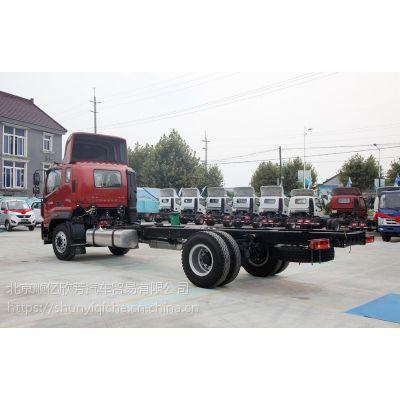 北京福田牌瑞沃工厂厢式运输车出厂价