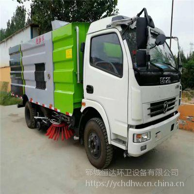 供应东风多利卡8吨道路清扫车 10方3800轴距3.76L干湿两用洗扫车支持定做