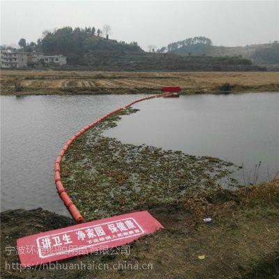 内河漂浮污物拦漂塑料浮筒拦截浮块介绍