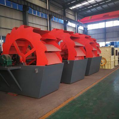 选矿用大型洗沙机 斗轮式洗沙机 双转轮式洗沙机环保节能