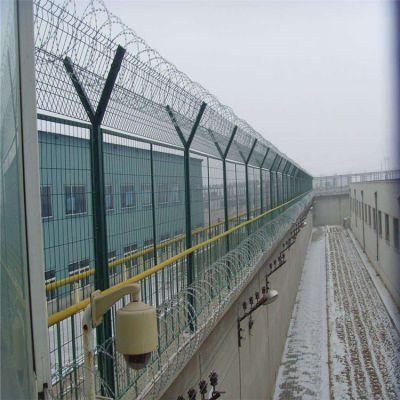 供应监狱护栏网 ***隔离防护网 机场围栏护栏网