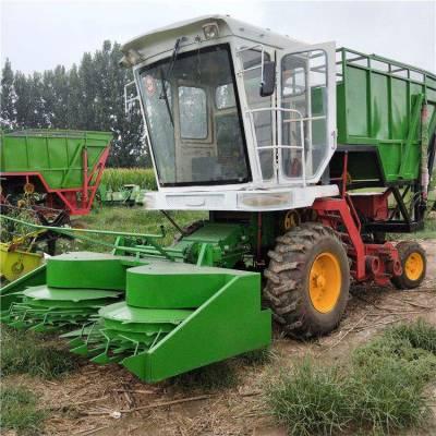大型圆盘式秸秆青贮收割机 自走式玉米秸秆青储机