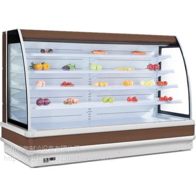 C款风幕柜水果保鲜柜果蔬菜陈列柜牛奶饮料展示柜悦优美厂家定制冷柜