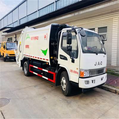 装8吨的压缩垃圾车 8立方压缩式垃圾车 福龙马压缩垃圾车价格