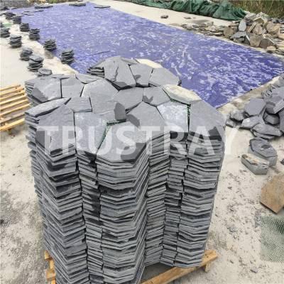 冰裂纹文化石|青石板冰裂纹|板岩多边形石材-江西诚磊