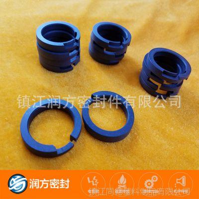 30MPa高压打气泵 充气泵二级活塞环 单双缸通用PTFE活塞配件