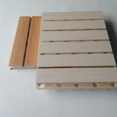 广州欧麟建声 环保实木吸音板 防火木质吸音板厂家