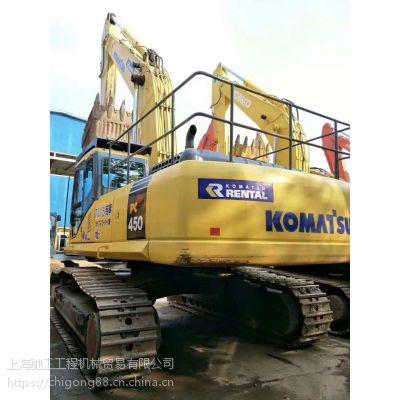 原装进口小松450二手挖掘机 价格优惠 二手挖掘机市场直销-上海驰工