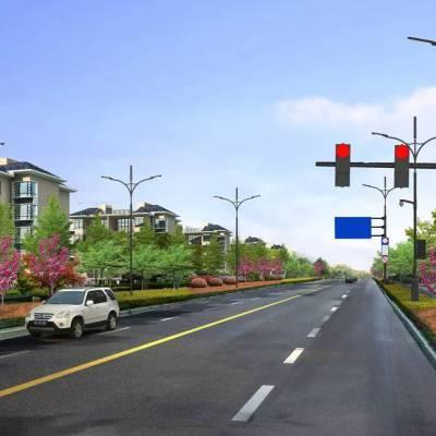 柳州交通标志牌八角杆件生产厂家热镀锌喷塑 江苏斯美尔光电科技有限公司