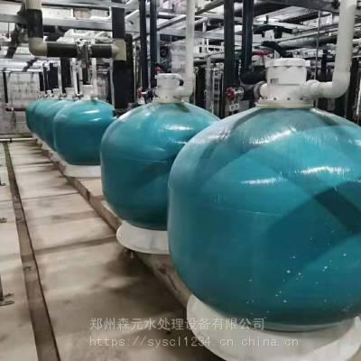 河南游泳池设备厂家游泳池砂缸过滤器工艺