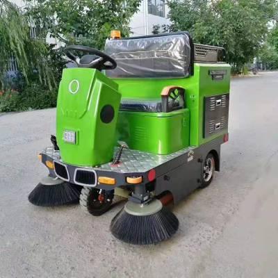 工业户外道路清扫车 电动扫路车 鸿哲 小型电动扫路车 全封闭电动扫路车价格