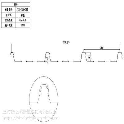 奉贤帝华广场采购墙面彩钢板YX41-250-750选择新之杰钢业