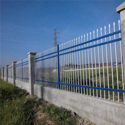 道路鋅鋼護欄 工廠 公園隔離圍墻鋅鋼護欄組裝鋅鋼護欄