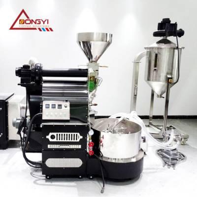 速溶咖啡生产设备 中型咖啡烘焙机畅销型号 品牌折扣价咖啡豆烘焙机 南阳东亿