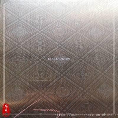 厂家专业定做不锈钢镀铜发黑板 红古铜板 山东不锈钢发黑板材批发