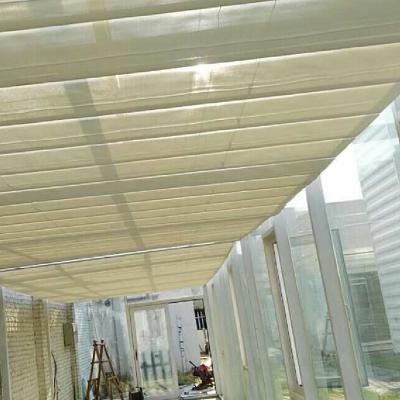 上海电动遮阳窗帘厂家 天棚遮阳帘 阳光房顶阳帘 玻璃房蜂巢帘