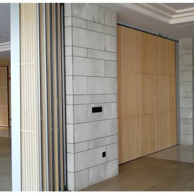 甘肃包厢隔断移门赛勒尔新中式屏风折叠门