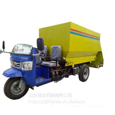 青贮给料车 撒草速度可以调节 喂料车