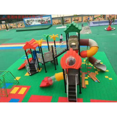 湖南儿童滑梯组合小区零售批发 永州室外幼儿园工程塑料社区包安装