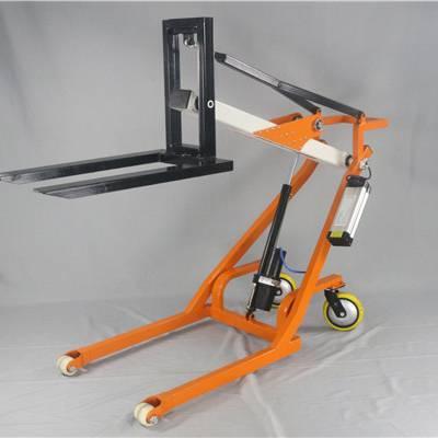 CCTV10我爱发明性价比 便携式电动叉车有用吗