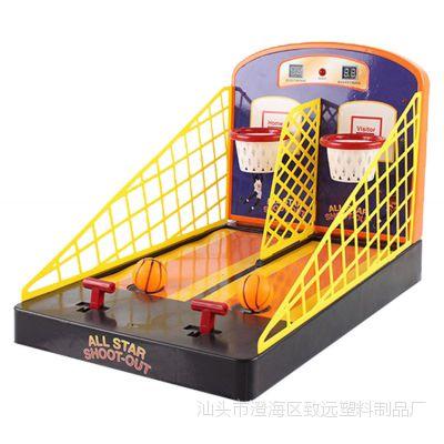 桌面休闲体育玩具 手指对战篮球台 双人对战智能计分益智玩具