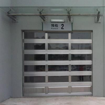 兰考电动垂直提升门-三福门业车库门安装-电动垂直提升门哪家好
